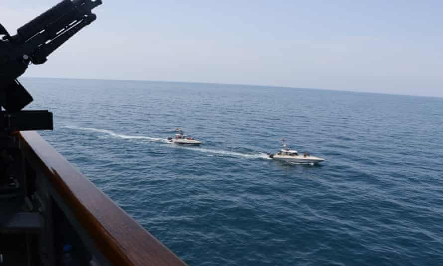 The US accused Iran of 'unsafe, unprofessional' interaction with their naval forces in the Arabian Gulf in April