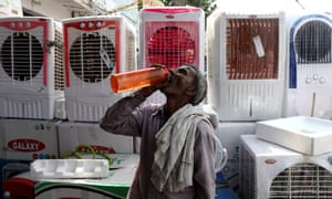 Temperatures hit record levels in India this summer.