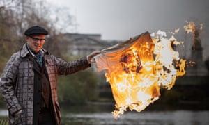 Going for the burn: Joe Corré
