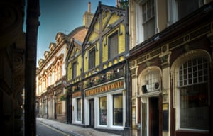 Olde worlde charm: Ye Hole in Ye Wall pub.