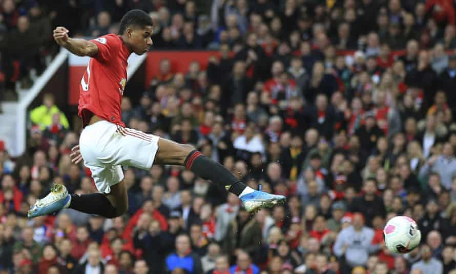 Marcus Rashford gives Manchester United the lead against Liverpool and the England man looked back to his best on Sunday.