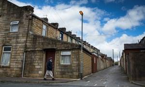 Burnley, east Lancashire, terraces houses
