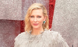 Cate Blanchett at the European premiere of Ocean's 8.