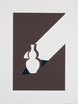 Arita Flask, 1990, by Patrick Caulfield