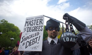 Rally in Union Square Park in New York on the day that student loan debt is expected to reach $1 trillion.