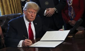 The White House has said it will review the so-called 'fiduciary rule', intended to protect Americans' retirement money from conflicted advice from financial advisers.