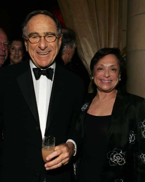 Harry Macklowe and Linda Macklowe in 2005.