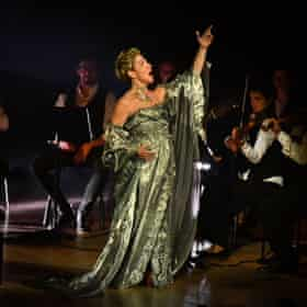 'She looks every bit the diva' ... Joyce DiDonato at the Barbican.