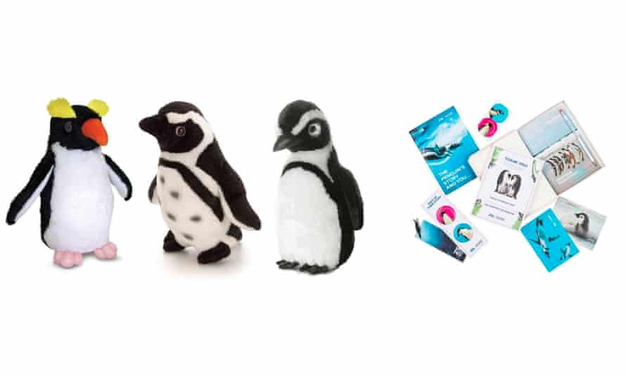 Penguin adoption and soft toys, from shop.zsl.org