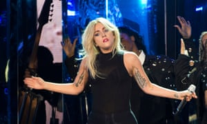 Lady Gaga, who has spoken out about her experience of sexual assault