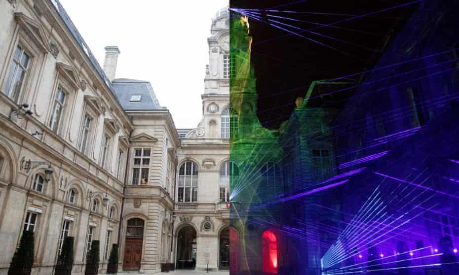 Lyon's Fêtes des Lumières, December 2018
