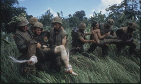 'War is where human beings reveal themselves most prominently' … an image from Ken Burns's The Vietnam War. Next he tackles Country Music.