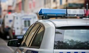 A West Australian police car