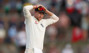 A disappointing day in the field for England and Joe Root.