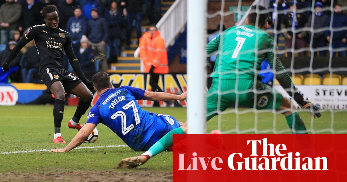 Peterborough 1 5 Leicester City Fa Cup Fourth Round As