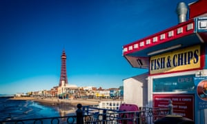 'Unpretentious indulgence' … Blackpool, one of Pete Brown's destinations.