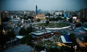 Firdos Square, Baghdad, where a statue of Saddam Hussein was toppled in 2003