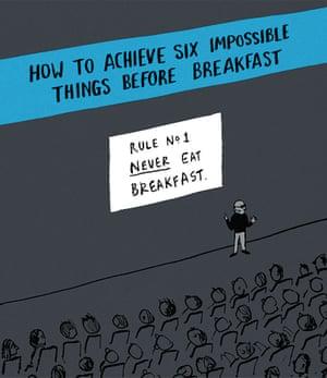 Berger & Wyse on self-help – cartoon