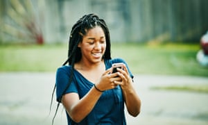 Social media can make young people feel anxious but they have more energy.