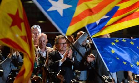 Artur Mas, president of Catalonia