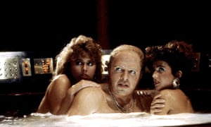 'I was stunned by how accurate the storyline was' … Thomas Wilson as Biff Tannen in Back to the Future 2, 1989.