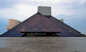 The Rock and Roll Hall of Fame and Museum in Cleveland.