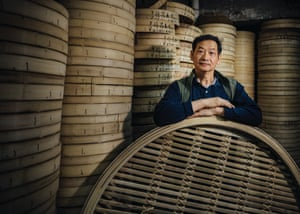 Raymond Lam of the Tuck Chong Sum Kee Bamboo Steamer Company