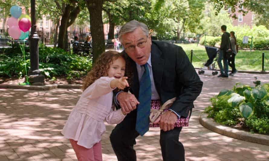Robert De Niro plays a 70-year-old widower returning to work in The Intern.