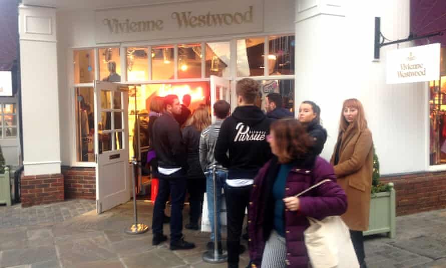'The shops offer Bond Street-style service, with the suited security guards welcoming each visitor individually.'