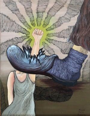 Womens Power, by Nazgol Golmuradi, from Iran,