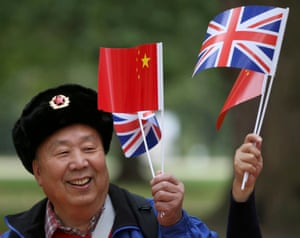 A supporter of China's President Xi Jinping.