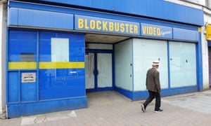 Aldershot's Blockbuster store, which ceased trading in 2013.