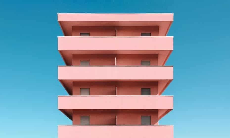 A splash of millennial pink in Pesaro, Italy.