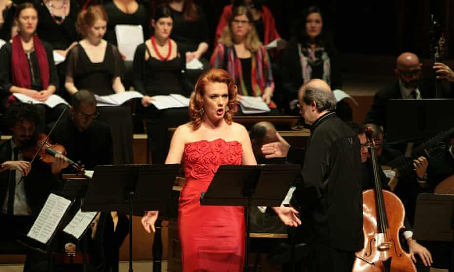 Magdalena Kožená in the title role of Juditha at the Barbican on Wednesday.