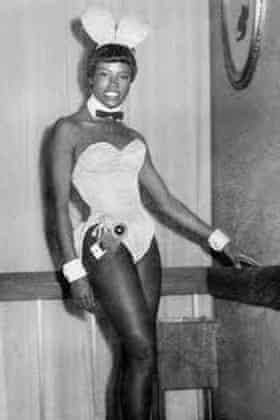 Jaki Nett in her Bunny uniform