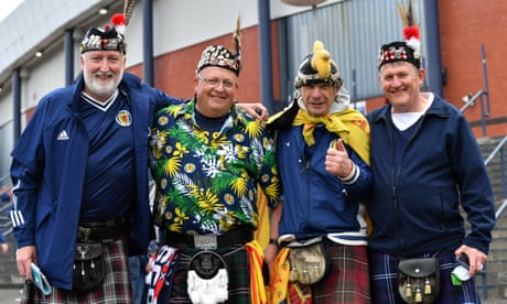 Euro 2020 day four: Scotland's moment arrives after England win – as it happened