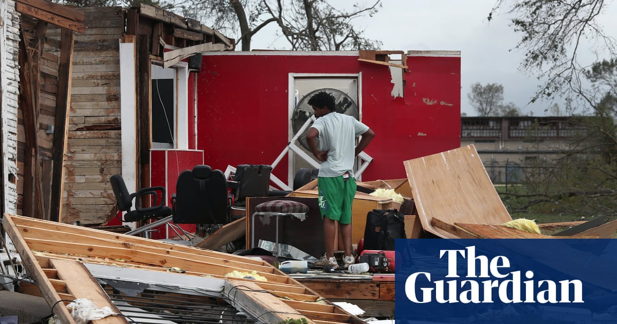 Laura makes landfall: images show damage and destruction of powerful hurricane – The Guardian
