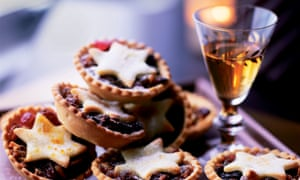 Mince pies and a glass of sherry.