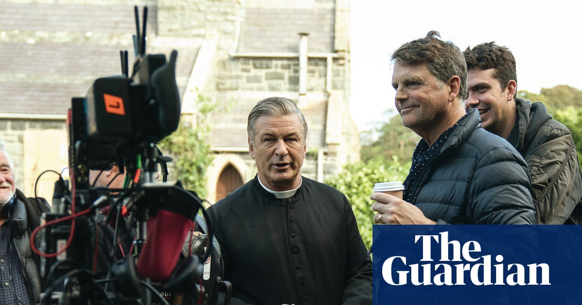 Alec Baldwin on the set of Pixie: My priest will never see this movie. I'll make sure of that