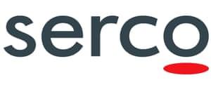 Serco's logo.