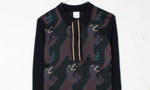 Multiple T-rex take a bite on Paul Smith's jumper