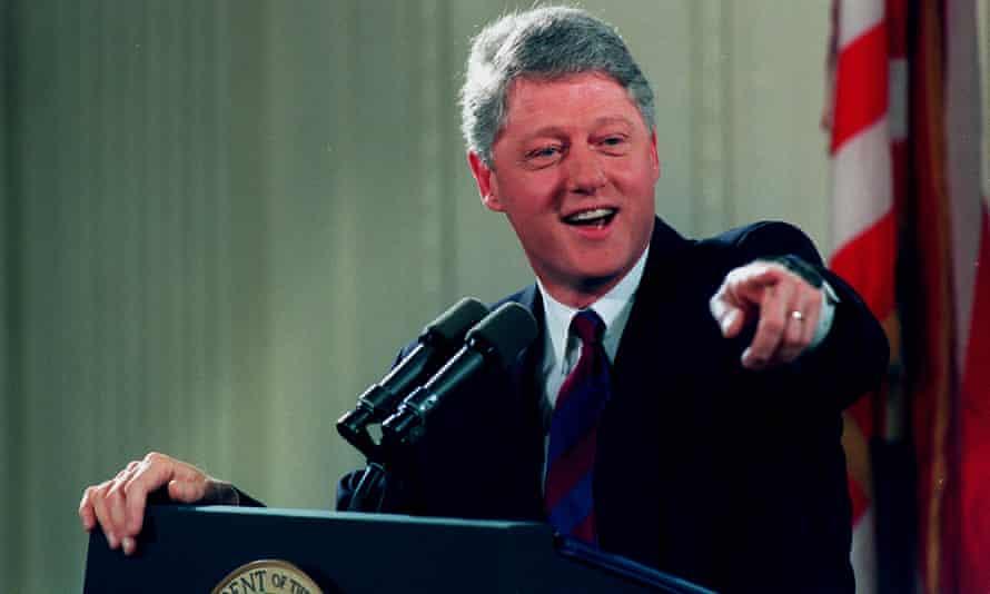 Bill Clinton, the subject of season two of Slow Burn