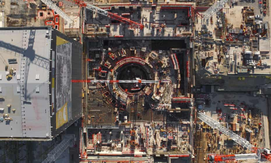The Iter nuclear fusion research centre in Provence, France