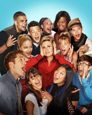Glee: one of the shows that's to blame for the resurgence of musicals