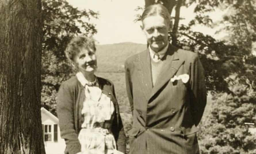 Emily Hale and TS Eliot pictured in 1946 in Dorset, Vermont