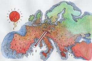 Andrzej Krauze cartoon