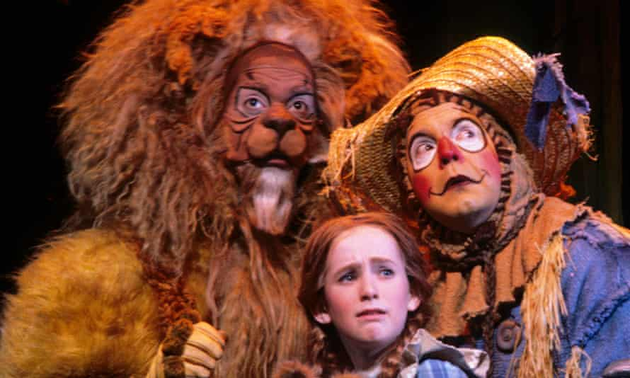 A performance of The Wonderful Wizard of Oz in Minneapolis OZ AT THE CHILDREN'S THEATER IN MINNEAPOLIS, MINNESOTA