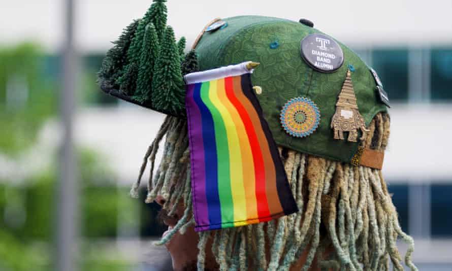 The Pride In The Park kick-off party in Center City Philadelphia