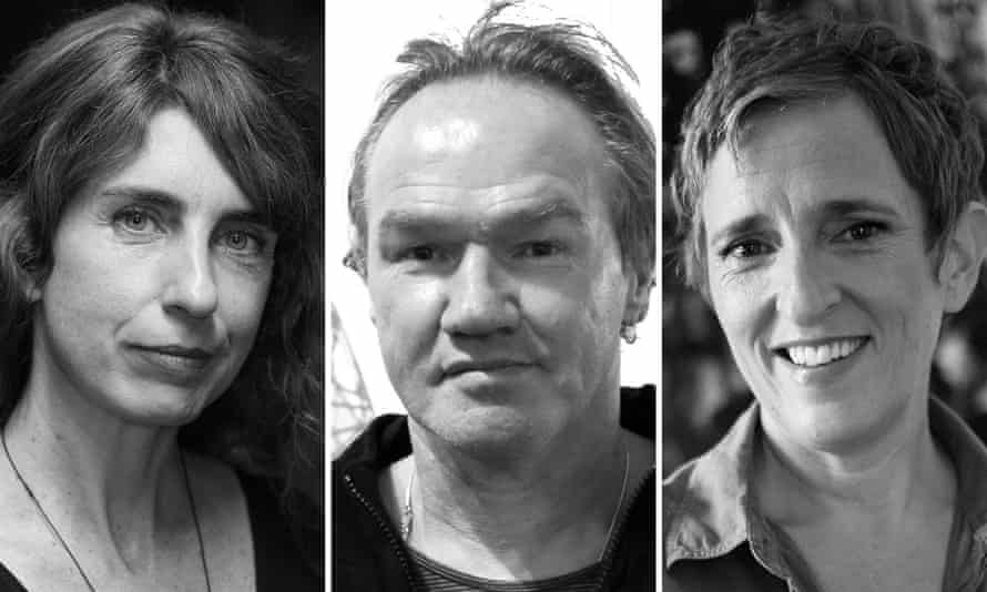 Mireille Juchau (left), Tony Birch (middle) and Charlotte Wood (right) are among the nine nominees for the 2016 Miles Franlin literary award.