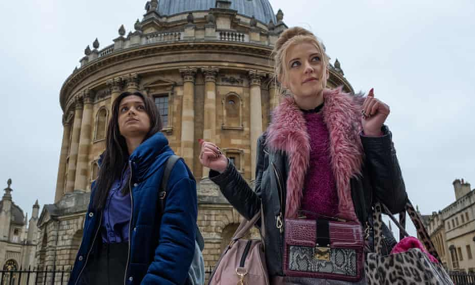 Nas (Amy-Leigh Hickman) and Missy (Poppy Lee Friar).